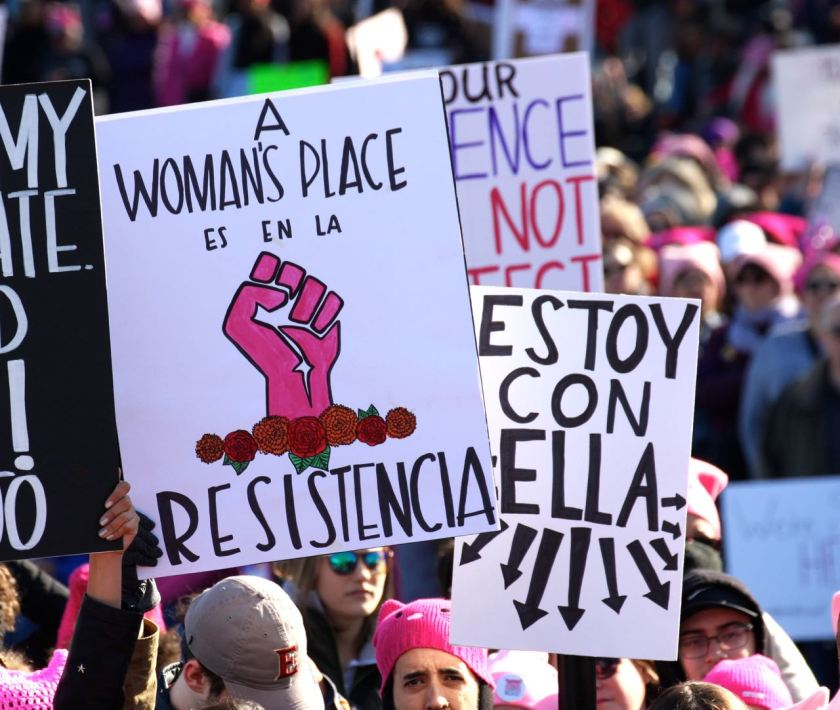 Women's March J. Sierra mdm